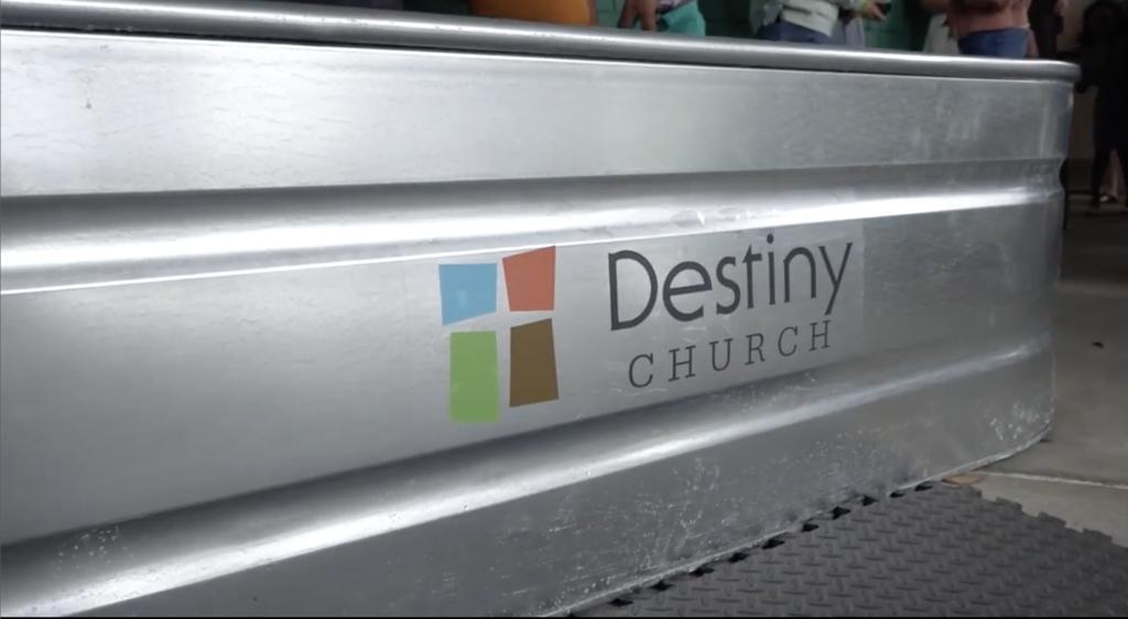Baptism - Destiny Church of Jacksonville